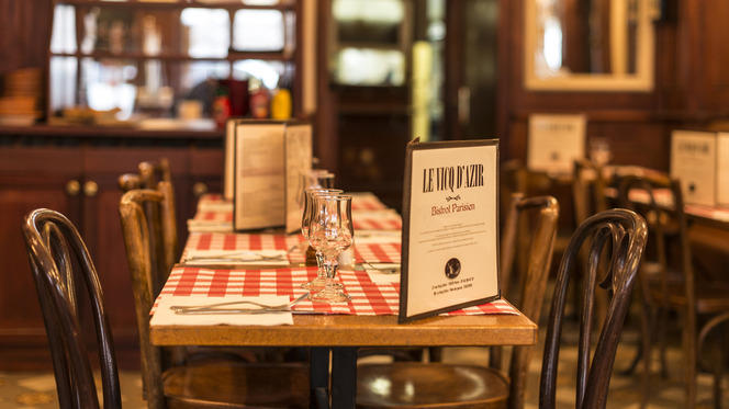 Table dressée - Le Vicq d'Azir, Paris