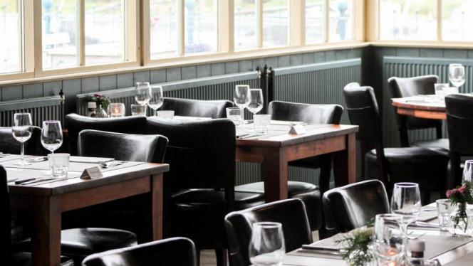 Het restaurant binnen - Polderrestaurant De Haven van Eemnes, Eemnes