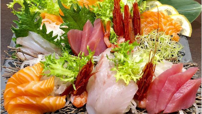 Sashimi - Akari Sushi Restaurant, Rome