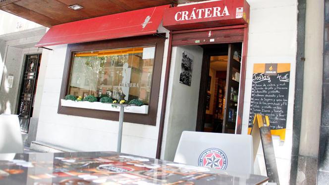 Terraza - Crátera Vides y Viandas, Madrid