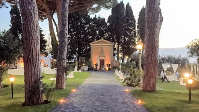 L'ingresso - Il Gourmet Restaurant Villa Appia, Marino