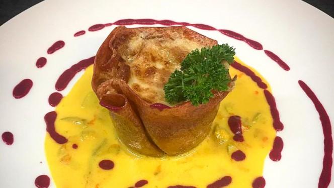 Lasagnetta di Barbabietola - Il Gourmet Restaurant Villa Appia, Marino
