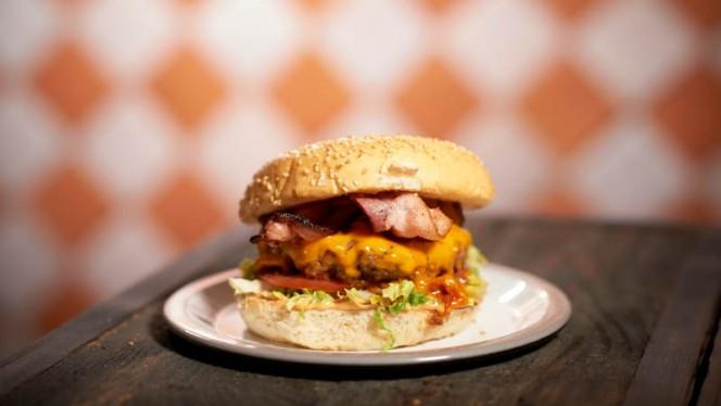 Bacon and Cheese Burger - Marcel BurgerBar,