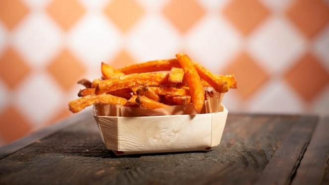 Frites de patate douce - Marcel BurgerBar,
