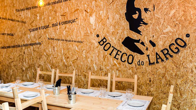 Sala do restaurante - Boteco do Largo, Lisboa