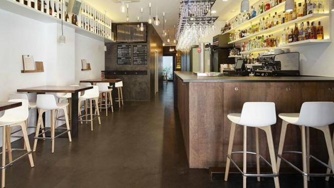 Sala del restaurante - Okamika, Zarautz