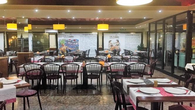 Sala del ristorante - Dea di Roma, Rome