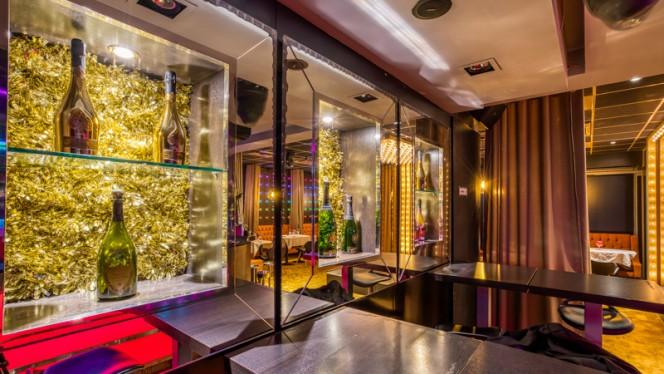 Salle de restaurant - Crazy Coulisses, Lyon