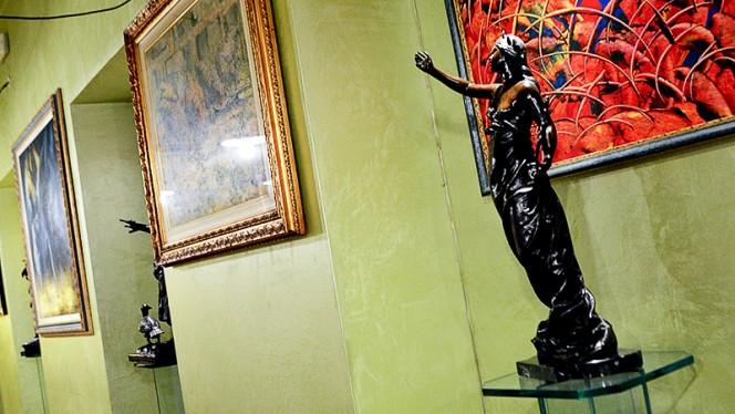 Particolare decorazione - Ristorante Giovanni, Turin
