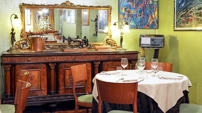 Particolare sala - Ristorante Giovanni, Turin