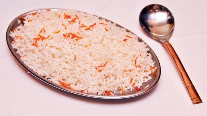 riz à l'indienne - Palais de Vandan, Paris