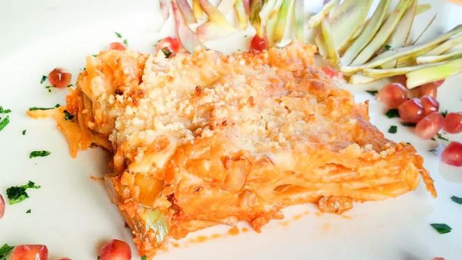 La lasagna - Veganfruttariano, Milan