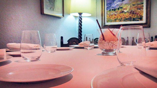 detalle decoración de mesa - Les Graelles, Valencia