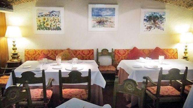 vista mesas y decoraciión - Les Graelles, Valencia