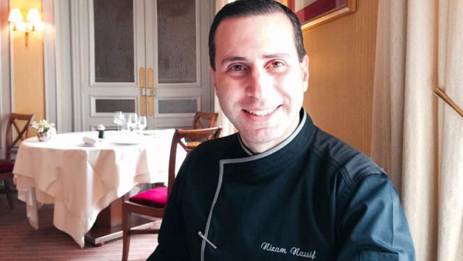 Le Chef Nizam Nassif - Le Poulpry, Paris