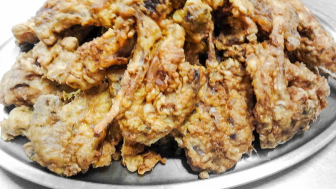 Cotolette d'agnello fritte - Ristorante Fichetto, Foligno