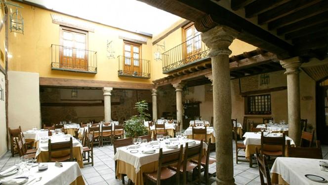Patio interior - Las Cancelas, Ávila