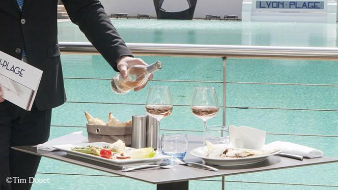Aperçu du service - Brasserie Lyon Plage - Hôtel Lyon Métropole, Lyon
