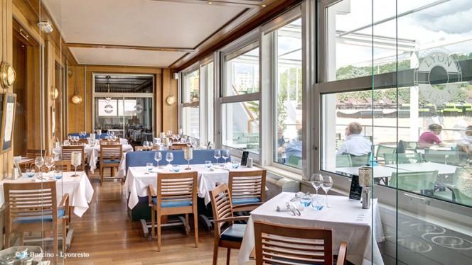 Vue de la salle - Brasserie Lyon Plage - Hôtel Lyon Métropole, Lyon