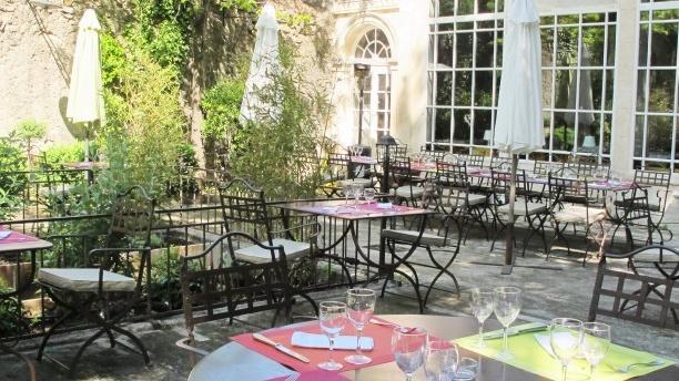 Zoom sur la terrasse - L'Estagnol, Saint-Rémy-de-Provence