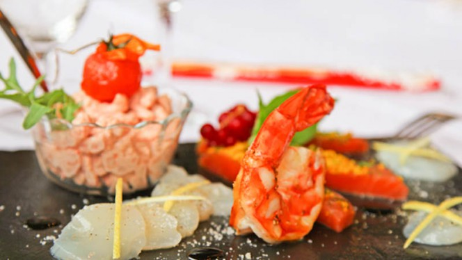 Assiette de la mer - Le Garoco, Meyrin