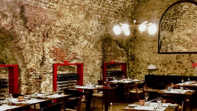 Sala del ristorante - Redibis, Bevagna