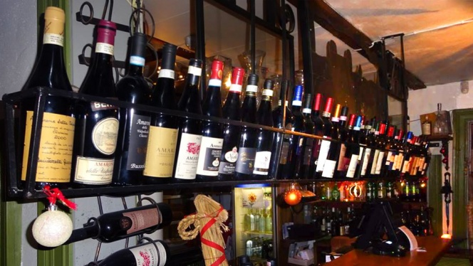 The wines - Il Forno Italiano, Uppsala