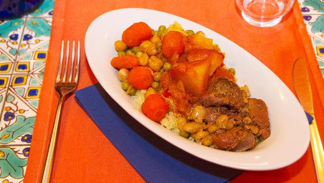 Cous cous con carne e verdure - Alfonso Cous Cous, Rome