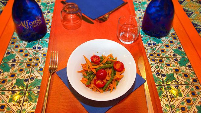 Couscous vegetale - Alfonso Cous Cous, Rome