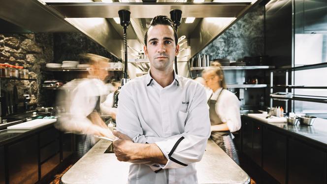 Le chef Yoann Caloué - Le Flacon, Carouge