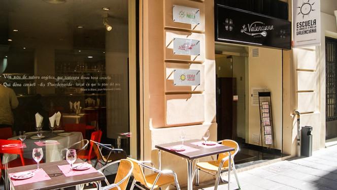 Vista entrada - La Valenciana Juristas, Valencia