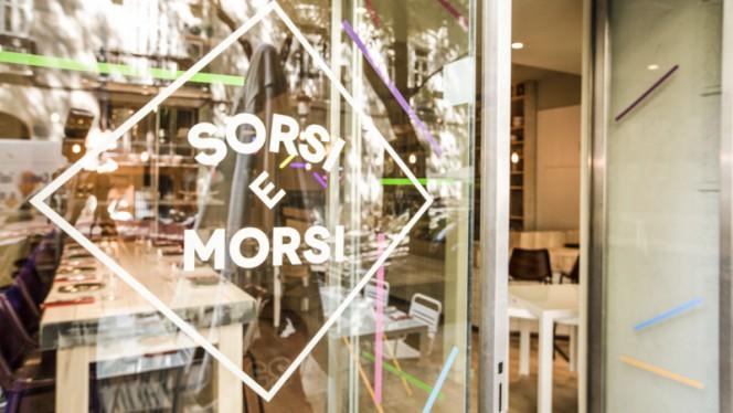 Detalle entrada - Sorsi e Morsi - Cánovas, Valencia