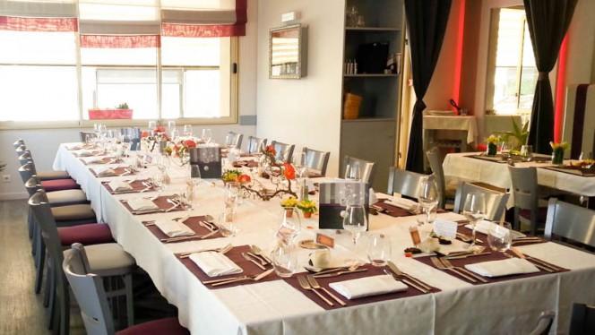 Salle de Restaurant - Repas de Groupe - Villa Belle Rive, Sainte-Luce-sur-Loire