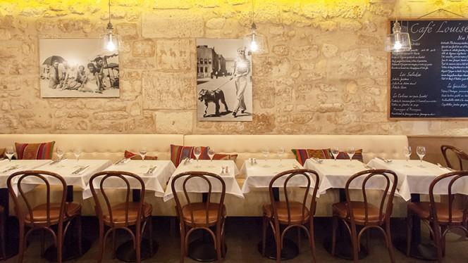 Vue de la sallle - Café Louise, Paris