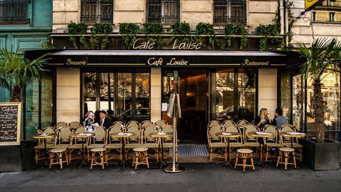 Vue de la terrasse - Café Louise, Paris