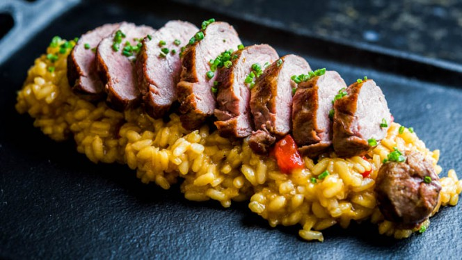 Sugerencia del chef - Plató, Madrid