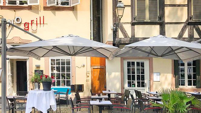 Vue de la terrasse - Piano Grill, Strasbourg