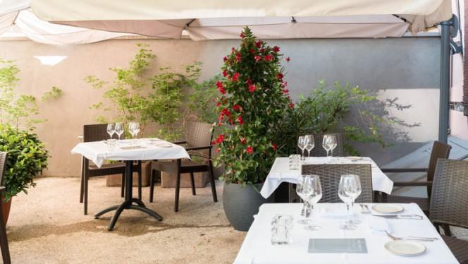 Terrasse - Le Violon d'Ingres - Pauline Taboureau et Eric Meyer, Strasbourg