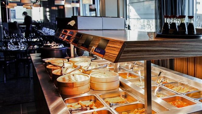 Buffet - Pong Skrapan, Stockholm