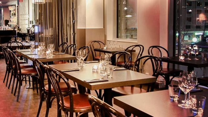 The restaurant - Pong Skrapan, Stockholm