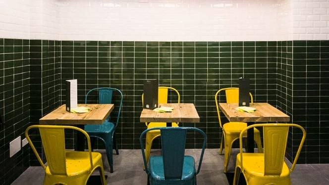 la sala - Street Burger Italian Gourmet Sottocorno, Milan