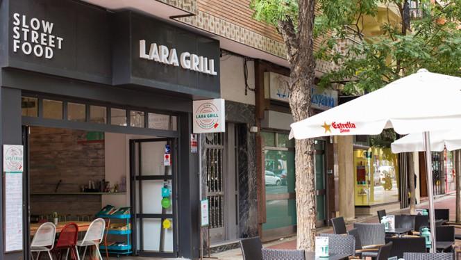 Vista terraza - Lara Grill, Madrid