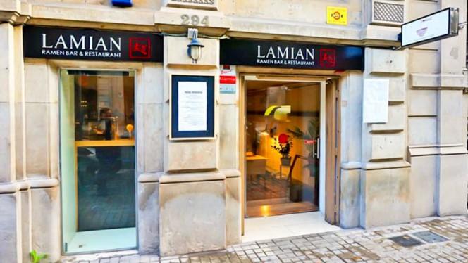 Entrada - Lamian, Barcelona