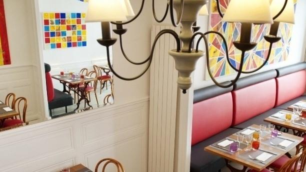 Salle du restaurant - Le Bistrot à Gilles, Nantes