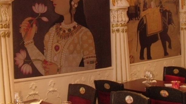 Détail de décoration - Punjab, Bordeaux