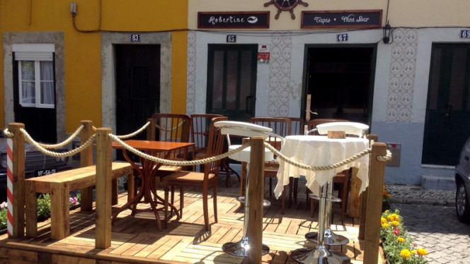 Entrada - RoberTine Restaurant - Tapas & Winebar, Lisboa