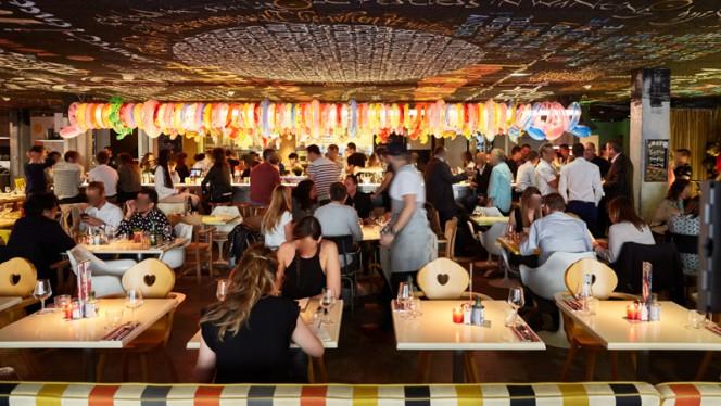 Salle du restaurant - Mama Restaurant Bordeaux, Bordeaux