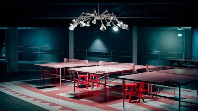 Tennis de table - Mama Restaurant Bordeaux, Bordeaux
