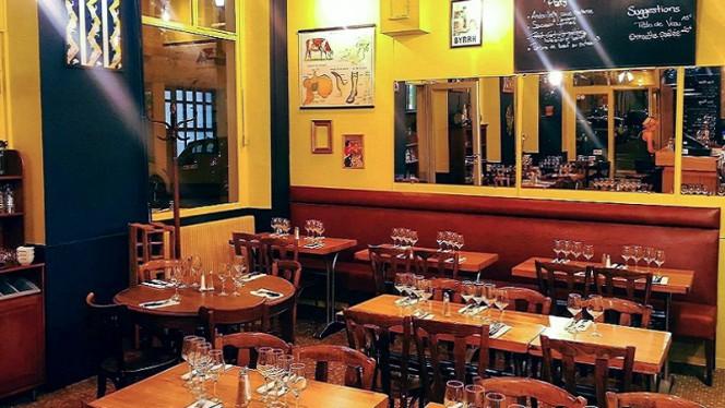 Vue de la salle - Café du Nain, Lyon