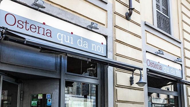 La entrata - Osteria Qui Da Noi, Milan